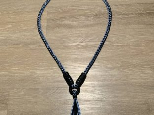 Handcrafted neck reins and halters