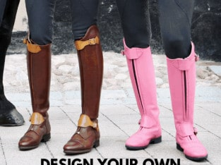 Design your own unique tall boots