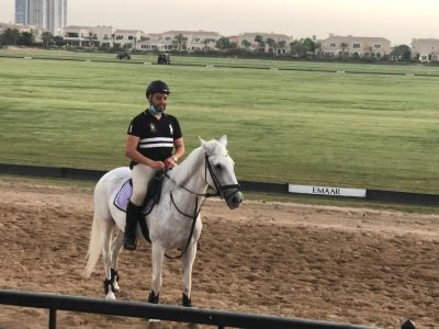 Horse lease at dubai polo equestrain club